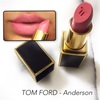 【TOM FORD】LIPS & BOYS  Anderson 03レビュー。【トムフォード】