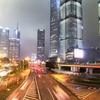 ファーウェイP40Proでスローシャッターを試す・上海夜景