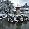 最後の雪と アトリエtazymazy春のレッスンのご案内