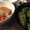 【和料理レシピ】 ピーマンの肉づめ  ・ 人参とシーチキン塩昆布の炒め