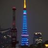 ほぼライブ - 医療関係者応援 東京タワーブルーライトアップ