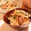 土鍋で焼きキノコご飯*ククパダブルカテゴリ入りレシピ☆&うさぎの耳スケ通信