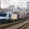 2月5日撮影 東海道線 平塚~大磯間 貨物列車 3075ㇾ 5095ㇾ 2079ㇾ