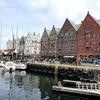 日曜のベルゲンを市内観光してみる・・ブリッゲンと魚市場を