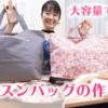 大容量で軽い!レッスンバッグの作り方 ミシン直線縫いで作れる
