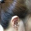 いつの間にか耳の軟骨ピアスのキャッチが外れて紛失してた💦なので「立爪ジュエルラブレット」を新たに購入してみた!