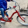 長男5歳の誕生日に自転車をプレゼント!