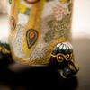 鉢も美しい:日本春蘭