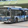 ウズベキスタン・タシケント市ラッピングバス