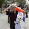 秋葉原で胸キュンだ!ついにアキバで「胸キュン!GOMI拾い」レポ:代打!銀さん!! #akiba