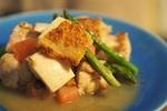 【おつまみレシピ】鶏モモ肉とアスパラのフレッシュグレープフルーツマリネの作り方