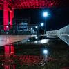 雨上がりに夜の若戸大橋を撮影しに行った話