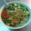 ハノイ・ロンビエン区のコリコリ貝粒麺