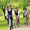 Tập thể dục bằng xe đạp có tác dụng gì ?