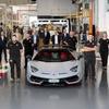 ランボルギーニ アヴェンタドールの生産台数が1万台を突破