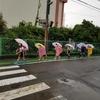 大雨の朝… 6年:防災教室