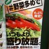 サブウェイ1日限りの「野菜全力DAY」は明日開催♪