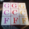 オリジナル ルービックキューブを作ったよ!〜不定調性論がどうして和音を立体として考えるか(後編)