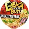 カップ麺82杯目 日清『デカブト 熟成コク旨味噌』
