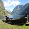 スケールの大きい北欧ノルウェイのソグネフィヨルド