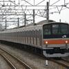 京葉線内で撮った 武蔵野線の205系