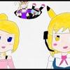 姫花&綾香のコラボイラストの色塗りが完了!