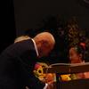 福島市中央地区敬老会、敬老祝い金の半減で参加者もまばらに。岩渕友参院議員も来賓あいさつ。午後自治体問題研究所の講座に参加。