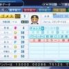 パワプロ2018作成 OB マウロ・ゴメス(内野手)