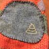 毛糸の手編みくつ下の穴を直す パート4