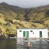 アイスランドの天然温泉Seljavallalaug