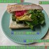 🚩外食日記(614)    宮崎ランチ  🆕 「水餃子と野菜とごはん Booza (ブーザ)」より、【タンドリー鯖サンド】【苺バターのあんこサンド】‼️