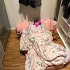 ☆クローゼットルームで寝る