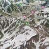 Google Earthで日本二百名山 / 奥大日岳 / 金剛堂山 / 位山 / 大日ヶ岳 / 笈ヶ岳