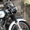 【バイク】ST250 Etypeにルーカスタイプヘッドライトを取り付ける!組み立て方が難しい!