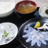 市場食堂のふぐ定食 愛知県南知多町