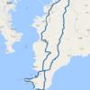 2017-06-17 ツーリング 千葉最南端と沖ノ島、洲崎灯台、館山砂丘、野島崎灯台
