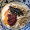 【桃屋×丸亀製麺うどんですよ!】第一弾!!梅ごのみ×とろろ醤油