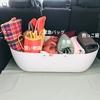 【車の収納】DIY車のトランクカバーと収納、そして冬支度