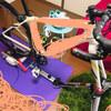 屋内でロードバイクに乗れるローラーを設置