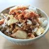 【納豆】納豆とキムチとチーズ、それから韓国のり