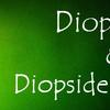 ダイオプサイド&ダイオプサイドキャッツアイ:Diopsaide & Diopside Cat's Eye