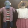 独身彼女なしの僕が将来を夢見て子供服のコーデ作って見た!!