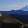 雪 前日登山で飯盛山