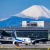 富士山が見られる2大空港、羽田と静岡どっちが大きく見える?