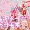ほぼ日手帳(Hobonichi)2018no.62扉ページをデコってみた