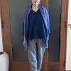 用途に合わせて選ぶリネンの服|フレンチリネンのプルオーバーとリトアニアリネンのストール