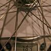 ホイール重量計測。