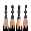 鉛筆を削って作るミニチュア彫刻にミケランジェロもびっくり?ちびた鉛筆他