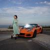 Lotus Elise Sport 220 Ⅱ とモデルのゆんさん