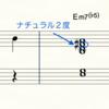 m7♭5コードはナチュラル2度(9度)が今っぽい?!